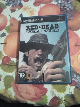 Juego Red Dead Revolver PS2