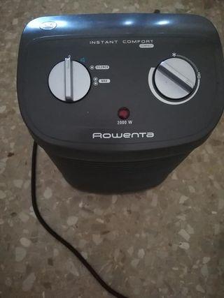 DISPONIBLE Rowenta calefactor y ventilador.