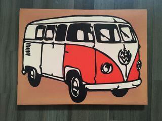 Cuadro furgoneta vw california