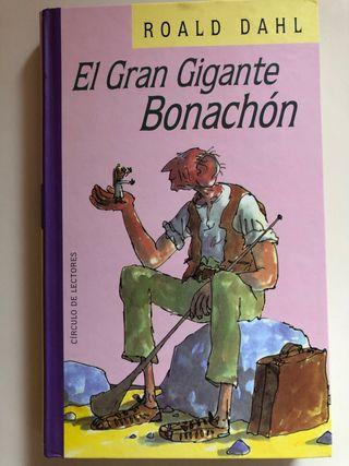 Libro El gran gigante bonachón