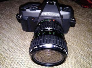 cámara de fotos reflex