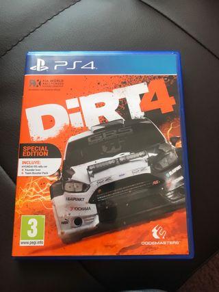 Dirt 4 ps4