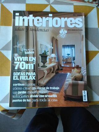 Revista de decoración interiores. Numero 1