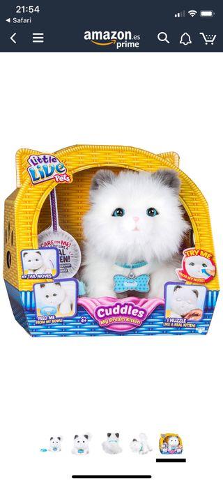 Little live pets gato interactivo