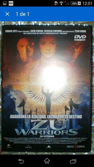 ZU WARRIORS DVD TSUI HARK ZHANG ZIYI DESCATALOGADA