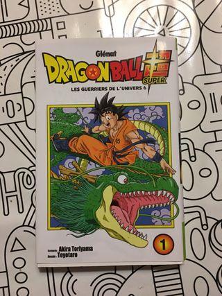 Comic Dragon ball super 1 (en frances)