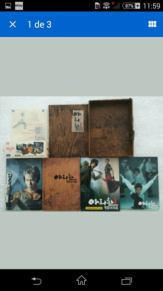 ARAHAN BOX DIGIPACK DELUXE 2 DVD OST CARDS PÓSTER