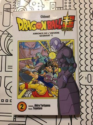 Comic dragon ball super 2 (en frances)