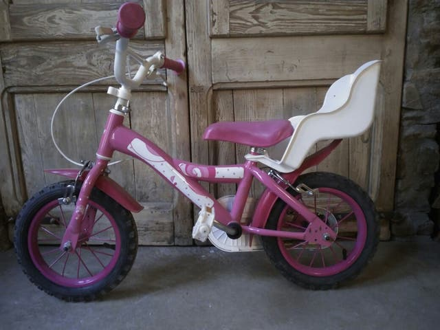 Bicicleta niña ideal para empezar con pedales