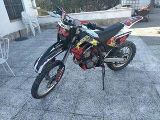 carné A2 Enduro, supermotard, cross, motocross