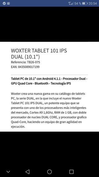 tablet 10 pulgadas