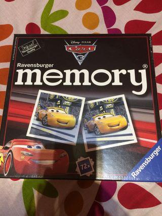 Memory cars juego nuevo