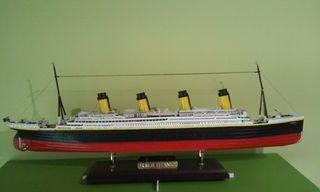Titanic maqueta barco