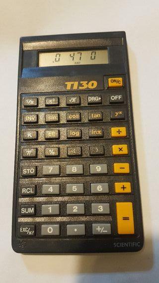 Calculadora cientifica Texas Instruments TI30