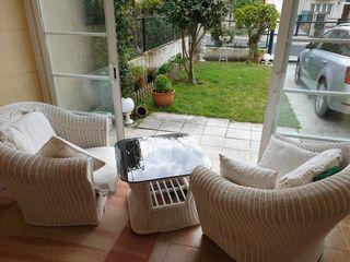 sillones y mesa de enea