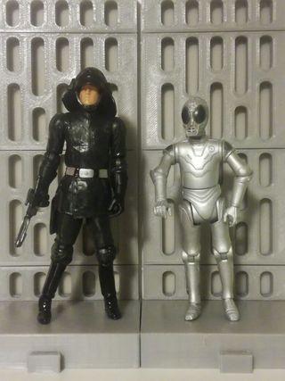 Star Wars figuras Estrella de la Muerte