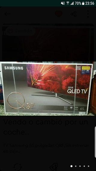 Tv 65 pulgadas Samsung Nueva a estrenar.