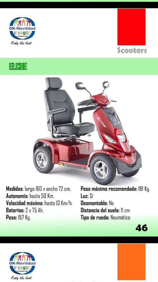 scooter para mayores nuevos