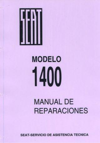 Manual de Taller del Seat 1400