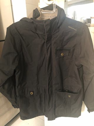 Chaqueta impermeable abrigo 12 años