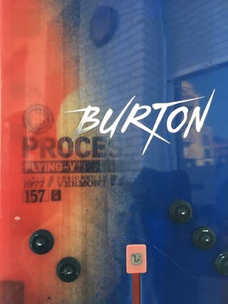 Snowboard Burton Process 157 Flying V