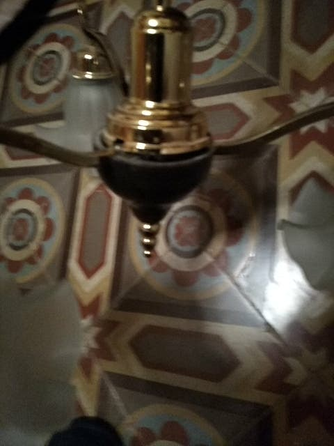 lampara modernista
