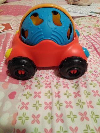 juguete coche pelota bebé