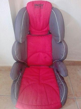 silla indy jane para coche isofix