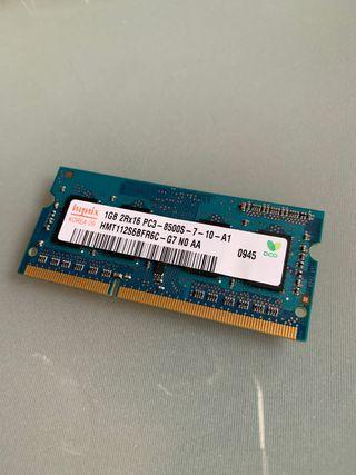 MEMORIA RAM 2GB (1x1GB)