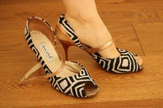 Zapatos de tacón COMME IL FAUT para bailar tango