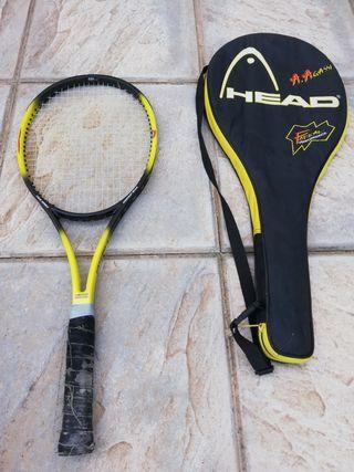 Raqueta tenis Head A. Agassi, made in Austria