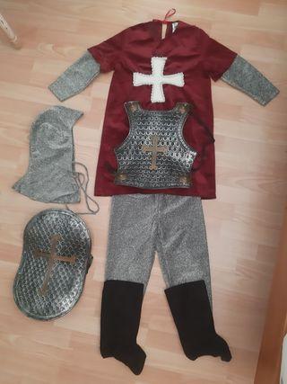 disfraz caballero medieval 6 años