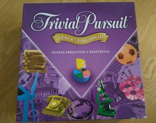 TRIVIAL PURSUIT GENUS Edicion III - NUEVO