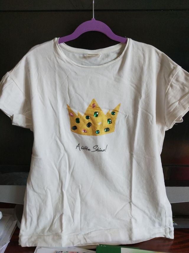 nuevo autentico busca lo mejor precio loco Camiseta blanca niña zara talla 11-12 de segunda mano por 3 ...