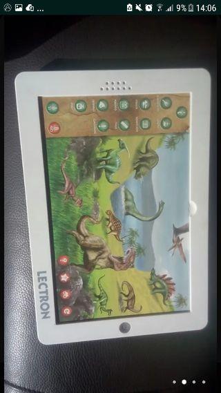 Tablet de dinosaurios