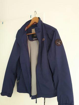 entrega rápida precio razonable comprar mejor detalles de napapijri chaqueta rainforest summer marino ...