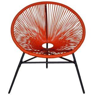 Silla acapulco naranja - KieferGarden