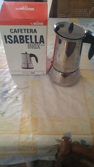 Cafetera isabella inoxidable valira