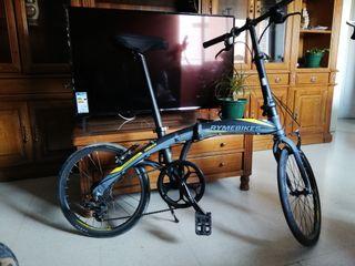 bicicleta plegable rymebikes urbana 20 pulgadas