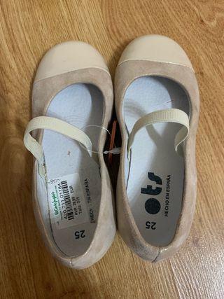 Zapato ots niña nuevo talla 25