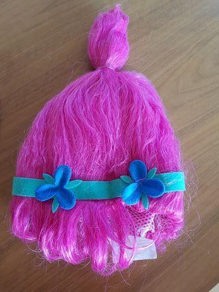 peluca niña Poppy