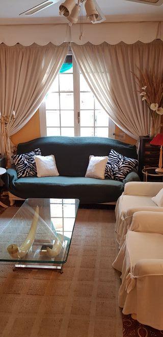 Funda para sofa de 3 plazas loneta.