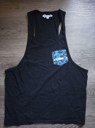 Camiseta surfera abierta