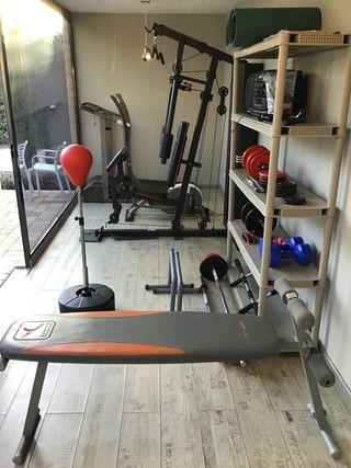 Kit de gimnasio completo