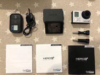 GoPro HERO3+ Black Edition+pantalla+carcasa buceo