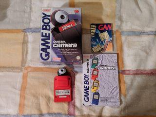 Game Boy Camara roja