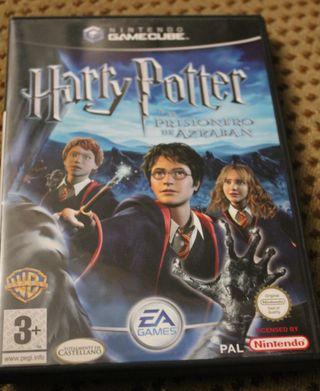 Harry Potter y el prisionero de Azkaban GameCube