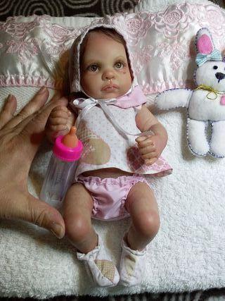 Bebe reborn miniatura