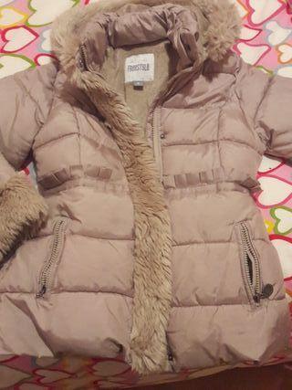 Precioso abrigo niña talla 8