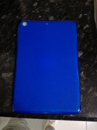 funda ipad mini azul.sin usar